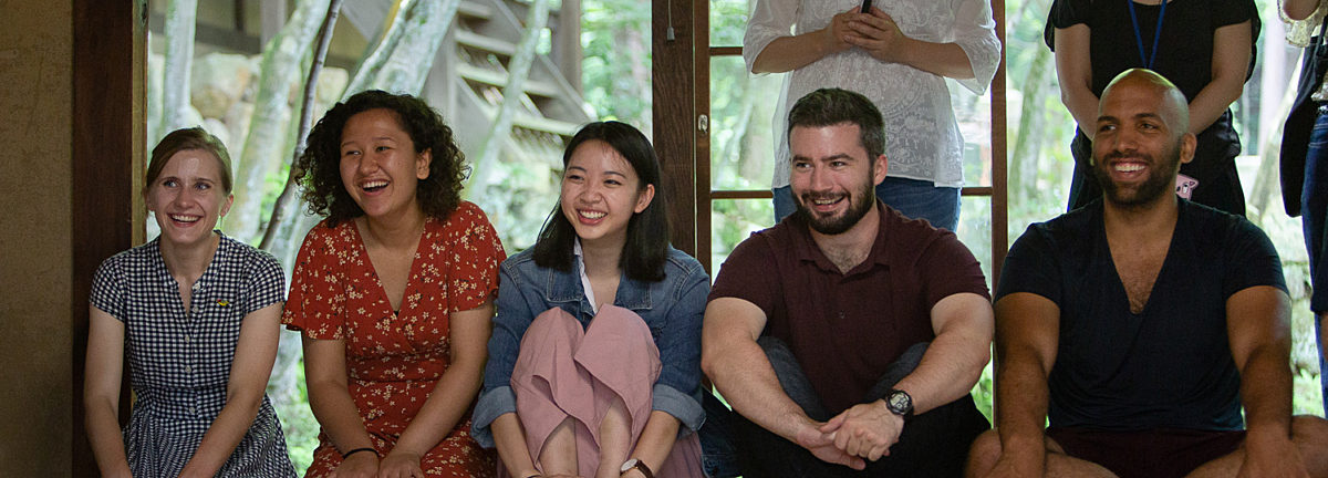 CLS Scholars in Okayama, Japan learn about the traditional Japanese tea ceremony.